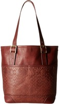 Pendleton Debossed Utility Tote Tote Handbags