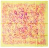 "Hermes Women's Vintage Yellow ""Indian Dust"" Silk Scarf, 35"" x 35"""