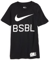 Nike Boy's Baseball Logo T-Shirt