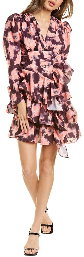 Thumbnail for your product : Beulah Tiered Mini Dress