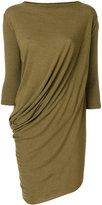 Rick Owens Lilies draped longline top