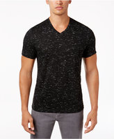 Alfani Men's V-Neck Heathered Performance T-Shirt, Only at Macy's