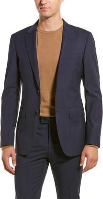 Lanvin 2Pc D8 Attitude Wool Suit