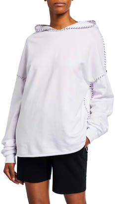 Made on Grand Girl Face Stitched Sweatshirt