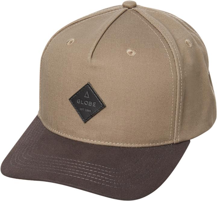 Globe Gladstone Snapback Cap Brown