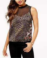 GUESS Odessa Layered-Look Illusion Top
