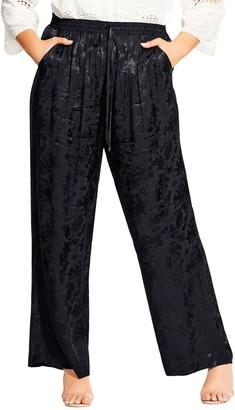 City Chic Love Jacquard Pants