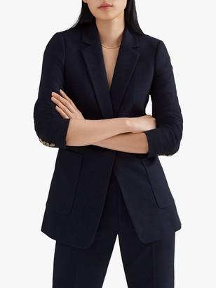 Club Monaco Textured Jacket, Navy