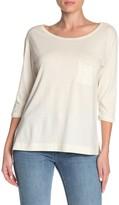 Jason Scott Block 3/4 Sleeve Pocket T-Shirt
