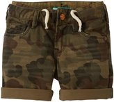 Scotch & Soda Kids 5 Pocket Pants (Kid) - Camouflage-4