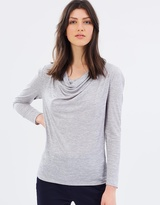 SABA Antonia Cowl Neck Top
