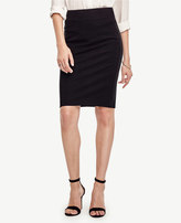 Ann Taylor Petite Seamed Pencil Skirt