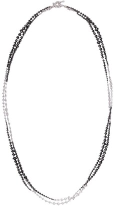 MARIANI 18kt white gold diamond Sautoir necklace