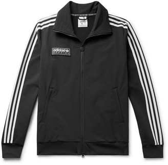 Adidas Consortium Spezial Pleckgate Logo-Appliqued Striped Shell Track Jacket