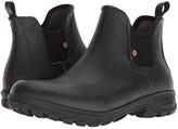 Bogs Sauvie Slip-On Boot (Black) Men's Rain Boots