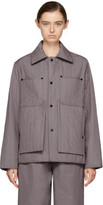 Craig Green Purple Quilted Workwear Jacket