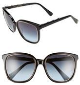 Oscar de la Renta Women's '215' 54Mm Sunglasses - Black