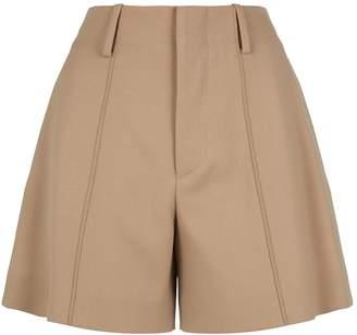 Chloé Wool-Blend Shorts