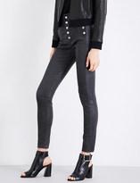 J Brand Natasha skinny high-rise leather trousers