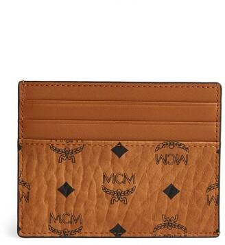 MCM Mini Visetos Card Holder