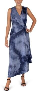 Robbie Bee Tie-Dyed Maxi Dress
