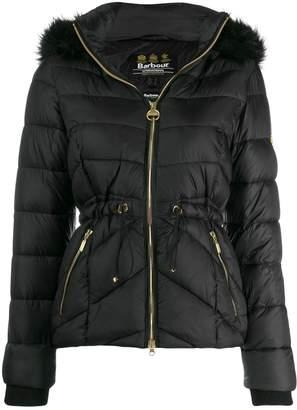 Barbour fur hooded jacket