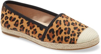 David Tate Paradise Genuine Calf Hair Espadrille Flat
