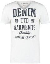 Tom Tailor Denim Basic Fit Print Tshirt White