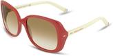 DSQUARED2 Signature Acetate Square Frame Sunglasses