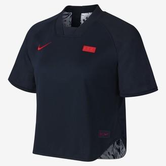 Nike Women's Reversible Short-Sleeve Soccer Top FFF
