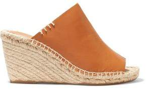 Soludos Leather Wedge Espadrille Mules