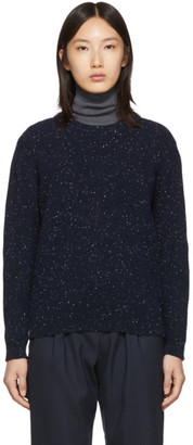A.P.C. Navy Wool Lifford Sweater