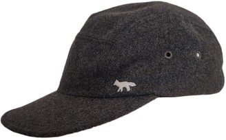 MAISON KITSUNÉ Grey Wool Hats & pull on hats