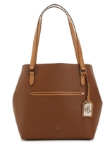 Lauren Ralph Lauren Lindley Leather Tote