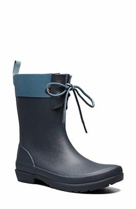 Bogs Flora Lace Top Waterproof Rain Boot