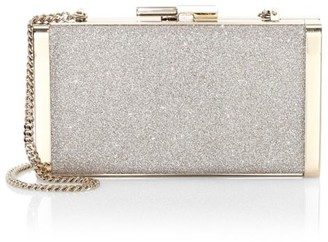 Jimmy Choo J Box Glitter Clutch