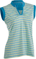 Asstd National Brand Dizzy Sleeveless Polo Plus