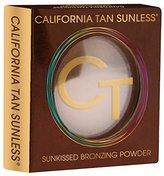 California Tan Sunless Bronzing Powder