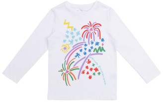 Stella Mccartney Kids Fireworks Print T-Shirt (4-14 Years)