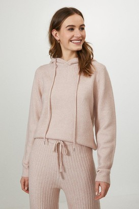 Coast Knitted Hooded Jumper