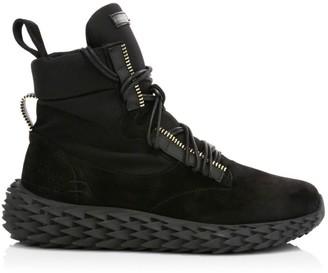 Giuseppe Zanotti High Urchin Suede High-Top Sneakers