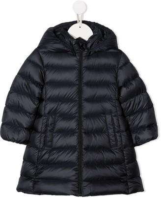 Moncler Enfant Feather Down Hooded Jacket