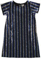Bonton Gold Majorette Sequin Dress