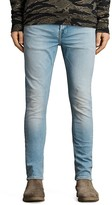 AllSaints Inez Cigarette Slim Fit Jeans in Indigo Blue