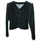 Ungaro Green Velvet Jacket for Women Vintage