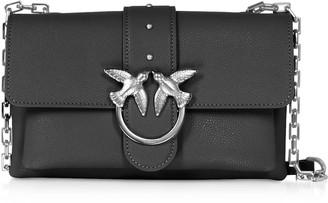 Pinko Black Love Mini Soft Simply Shoulder Bag