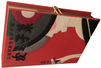 Olympia Le-Tan Olympia Le Tan Red Metal Clutch bags