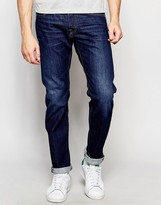Edwin Jeans ED-55 Relaxed Tapered Compact Indigo Coal Wash Dark