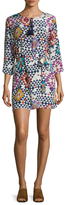 Figue Sophie Silk Printed Tunic Dress