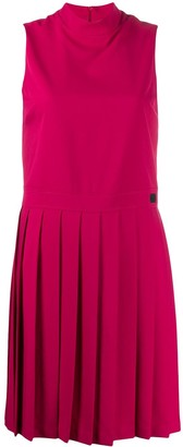 Blumarine pleated detail dress